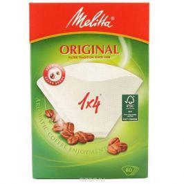Melitta Original, White фильтры для заваривания кофе, 1х4/80