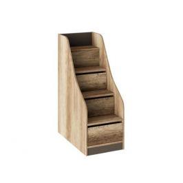 Лестница приставная с ящиками к 2-х ярусной кровати Пилигрим
