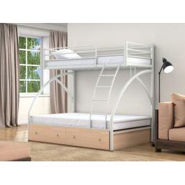 Двухъярусная кровать Клео 2 (90х190/190х120)