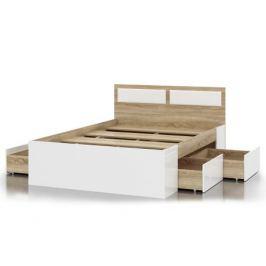 Кровать с ящиками Беатрис (140х200)