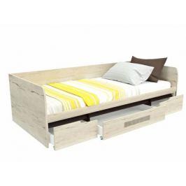 Кровать 1-но спальная с ящиками Мале