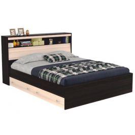 Кровать с блоком, ящиками и комплектом для сна Виктория (180х200)