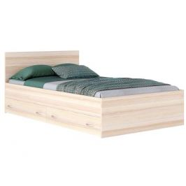 Кровать с ящиками и матрасом ГОСТ Виктория (140х200)