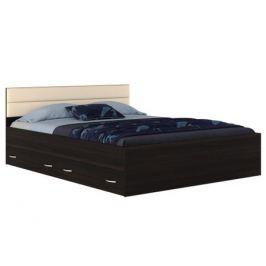 Кровать с ящиками и матрасом Promo B CocosТ Виктория-МБ (160х200)