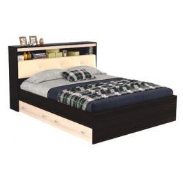 Кровать с блоком, ящиками и комплектом для сна Виктория ЭКО-П (160х200)