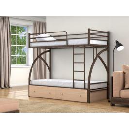 Двухъярусная кровать Клео 90 (90х190)