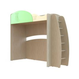 Кровать с лестницей Капитошка (80х190)