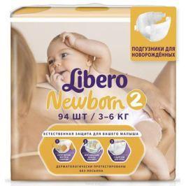 Libero Подгузники Newborn Size 2 (3-6 кг) 94 шт