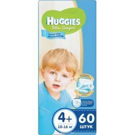 Huggies Подгузники для мальчиков Ultra Comfort 10-16 кг (размер 4+) 60 шт