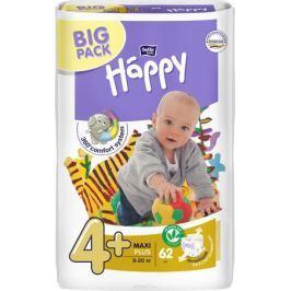 Bella baby Happy Подгузники, 9-20 кг, 62 шт