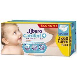 Libero Подгузники Comfort Size 4 (7-14 кг) 120 шт