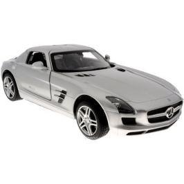 Rastar Радиоуправляемая модель Mercedes-Benz SLS AMG цвет серебристый