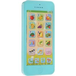 Mommy Love Развивающая игрушка Телефончик цвет голубой