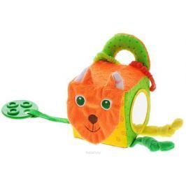Мякиши Мягкая развивающая игрушка Кубик лиса
