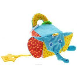 Мякиши Мягкая развивающая игрушка Кубик слон