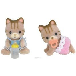 Sylvanian Families Набор фигурок Полосатые котята-двойняшки