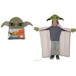 15671 Плед с капюшоном StarWars (Звёздные Войны) - Yoda, размер 100х100 см