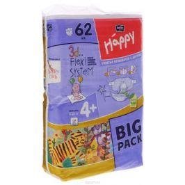 Bella Подгузники для детей Baby Happy размер Maxi Plus 4+ 9-20 кг 62 шт