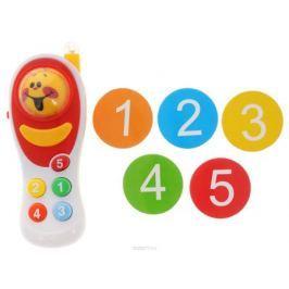 ABtoys Развивающая игрушка Интеллектуальный мобильный телефон цвет белый