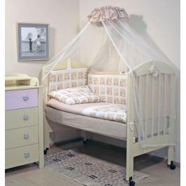 Топотушки Комплект детского постельного белья Мишутка цвет бежевый 7 предметов