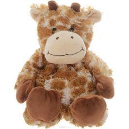 Warmies Мягкая игрушка-грелка Жираф цвет рыжий