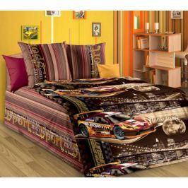 ТексДизайн Комплект детского постельного белья Неон 1,5-спальный цвет коричневый