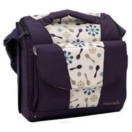 Munchkin Дорожный стульчик для кормления цвет фиолетовый бежевый