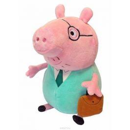 Peppa Pig Мягкая игрушка Папа Свин с кейсом 30 см