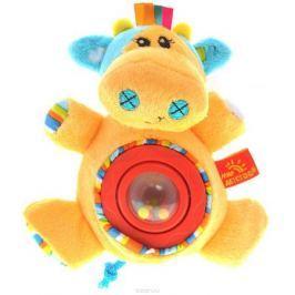 Мир Детства Мягкая игрушка-погремушка Артистка Виолетта цвет круга красный