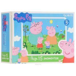 Оригами Мини-пазл Peppa Pig Свинки 01593 Обучение и развитие