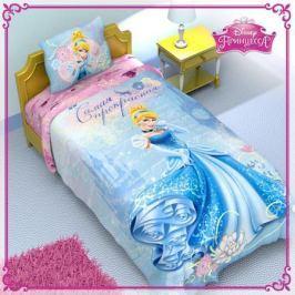 Disney Комплект детского постельного белья Принцессы 1,5 спальное