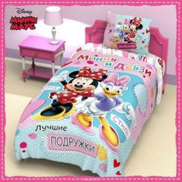 Disney Комплект детского постельного белья Минни Маус 1,5 спальное 1149315