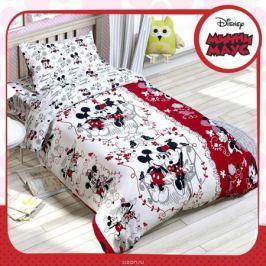 Disney КПБ 1,5 спальное Микки Маус и его друзья Микки и Минни