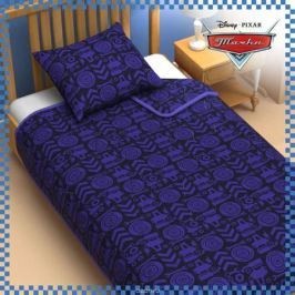Disney Одеяло 1,5 спальное Тачки цвет синий 140 х 205 см