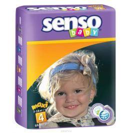 Senso Baby Подгузники Maxi 7-18 кг 66 шт