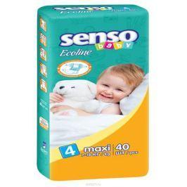 Senso Baby Ecoline Подгузники Maxi 7-18 кг 40 шт