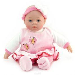 Lisa Jane Пупс озвученный в платье цвет розовый
