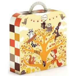 Krooom Пазл для малышей Лесные животные