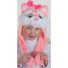 Карнавалия Карнавальный аксессуар для девочки Кошечка цвет розовый размер 54