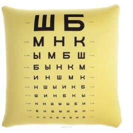 Мнушки Подушка-игрушка Проверка зрения 163959