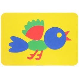 Август Пазл для малышей Птичка цвет основы желтый