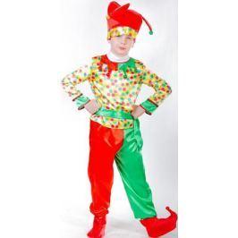 Карнавалия Карнавальный костюм для мальчика Петрушка размер 110