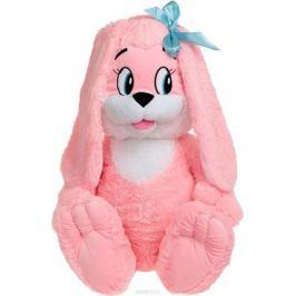 Sima-land Мягкая игрушка Зайчик цвет розовый 75 см
