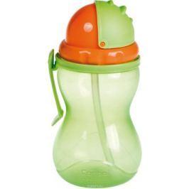 Canpol Babies Поильник с трубочкой от 12 месяцев цвет зеленый 370 мл