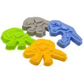 Happy Baby Набор формочек для песка Dinosaurs