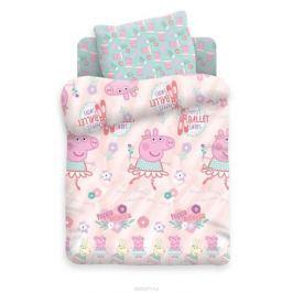 Свинка Пеппа Комплект белья для новорожденных Пеппа балерина