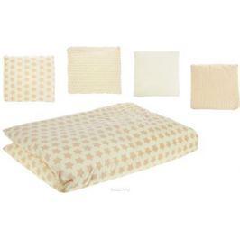Топотушки Комплект детского постельного белья 12 месяцев цвет желтый 6 предметов