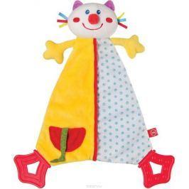 Happy Baby Развивающая игрушка Платок Dreamy Kitty