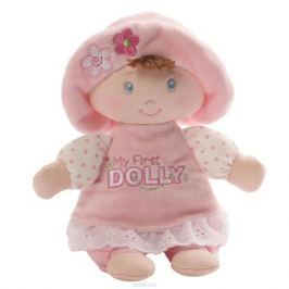 Gund Мягкая игрушка My First Dolly Small Brunette Rattle 18 см