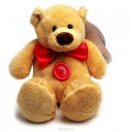 Magic Bear Toys Мягкая игрушка Мишка с пуговицей 14 см